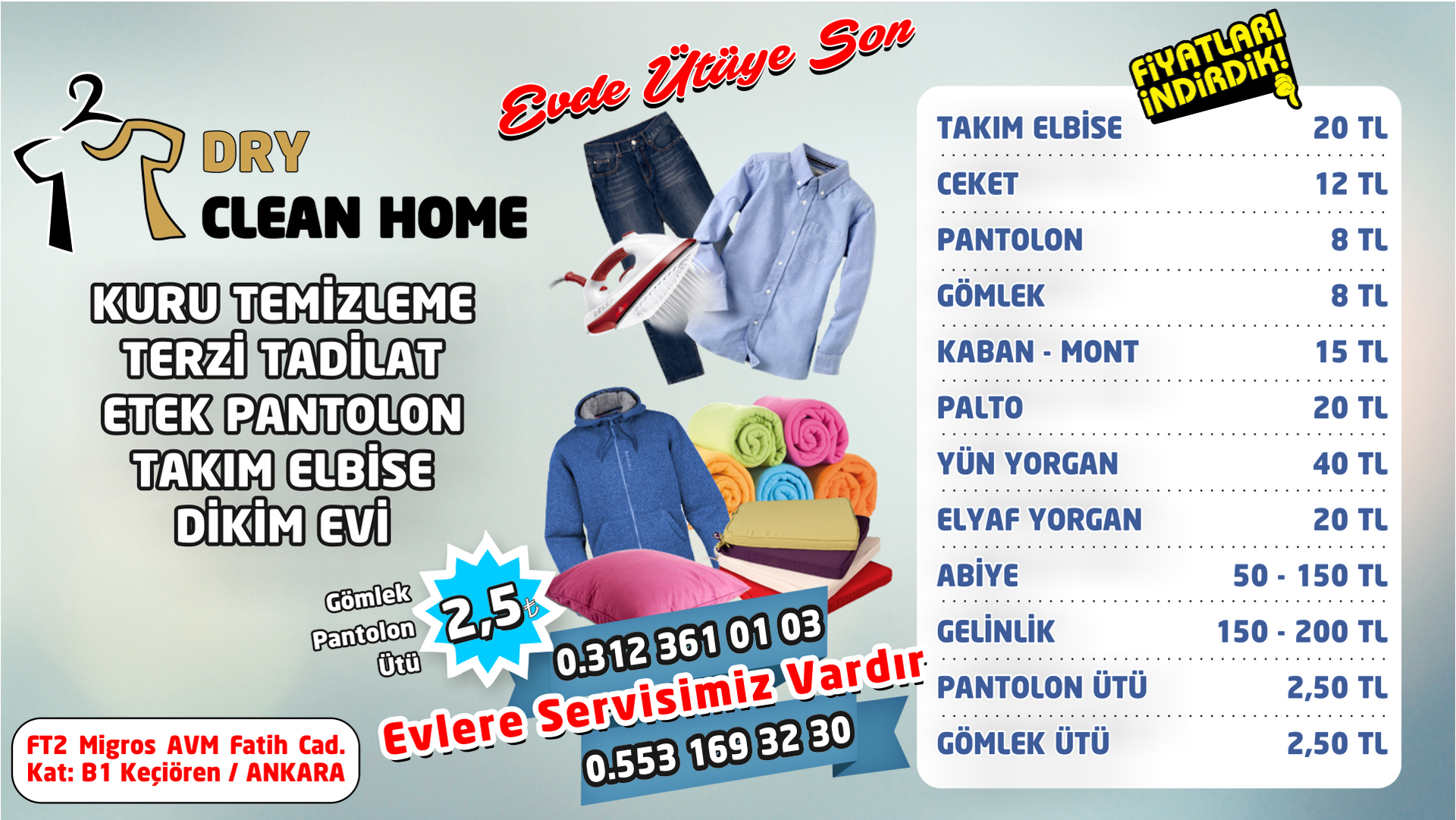 DRY CLEAN HOME